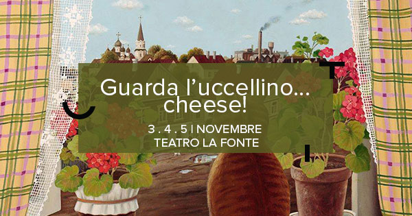 Banner Uccellino Cheese 2017